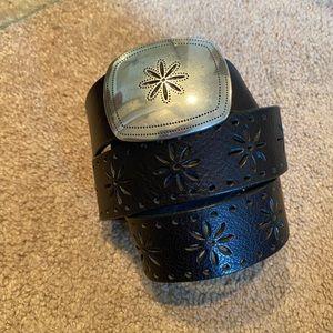 Candies leather belt vintage